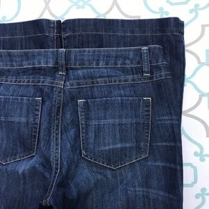"""NWT💙👖CAbi SUPER FLARE  JEANS👖💙29 7/8 35"""" LONG"""